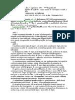 L 61 1991 - Sancţ Faptelor de Încălc a Unor n de Convieţuire Socială, A OLP