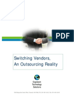 Manufacturing Switching Vendors