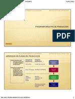 5. Programa Maestro de Producción