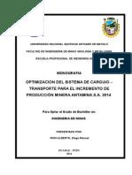 Monografia-optimizacion en Antamina