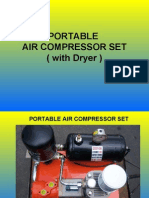 Set of Portable Air Compressor