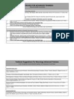 Textbook recommedationsforNeurologytrainees2014