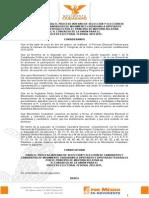Convocatoria para Selección y Elección de Candidatos y Candidatas a Diputaciones Federales por Movimiento Ciuadano Proceso Electoral 2014-2015