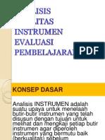 5-Analisis Perngkat Instrumen Evaluasi.ppt