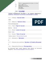 Tecnicas Geoespaciales en Las Ciencias Ambientales