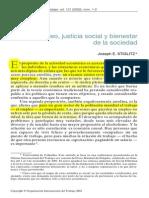 Empleo Justicia Social y Bienestar Stiglitz (1)