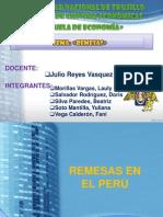 Remesas en El Perú i Parte