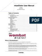WombatDialer_UserManual_v3