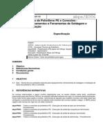 ABPE E006-1998 - Tubos de Polietileno PE e Conexões - Equipamentos e Ferramentas de Soldagem e Instalação - Especificação