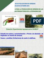 INTA Cerezas Suelos Patagonia Sur