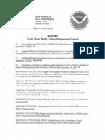 NOAA enforcement report
