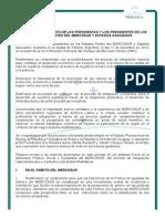 Cumbre Mercosur