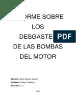 Desgaste de Bombas Hidraulicas y de Agua