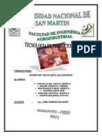 106550957 Instalacion de Una Planta Procesadora de Productos Carnicos en El Distrito de Tarapoto Provincia de San Martin Region San Martin