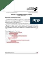 Exercices d'algorithmique (annales d'examens)