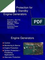 Alternator Protection for Emergency StandbyEngine Generators