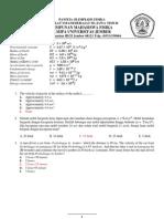 Soal Olimpiade Fisika Tingkat SMA Se-Jawa Timur