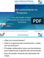 PMIV 7CGP Maria Isabel Specht Gestion de Conocimientos en Proyectos