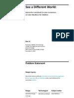 thesis process presentation dan yu
