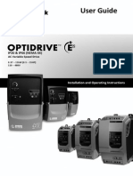 Invertek Drives Optidrive E2 Manual