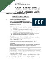 Especif. Tecns. Proy.M.T.arenal Alto 10-22.9 KVModificadas