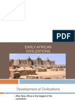 Early Africa 1