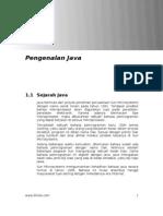 Tutorial Java [Bab 1]