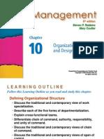 Management - Organization design