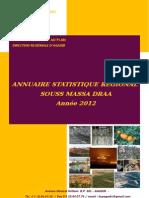 Annuaire Statistique de La Région Souss-Massa-Draa, 2012 (Version Arabe Et Française)