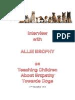 Allie Brophy Interview