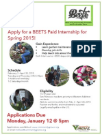 Spring 2015 BEETS Internship Flyer Press Quality