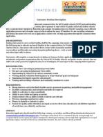 MSDC-Canvasser Position Description