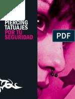 Folleto de Tatuajes y Piercing