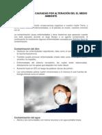 Enfermedades Causadas Por Alteración Del El Medio Ambiente