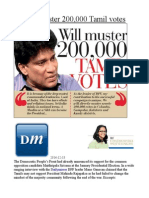Will Muster 200,000 Tamil Votes