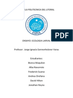 Ecologia Larval