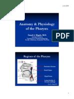 Anatomy & Physiology of the Pharynx