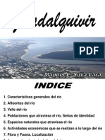 La actividad turística del Guadalquivir