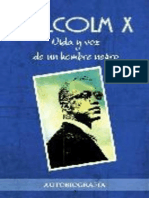 Malcolm X - Vida Y Voz de Un Hombre Negro (Autobiografia)