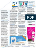 Pharmacy Daily for Thu 18 Dec 2014 - WA pharmacist vax ticked, Cancer cases doubled, April SPD cuts, Travel Specials, and much more