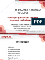 Tecnicas de Redação e Elaboração de Laudos Ipog