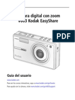 Manual Kodak V603 Español