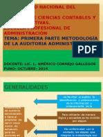 Auditoria Administrativa Metodología Meco 2014