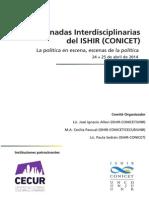 Programa-Jornadas ISHIR Conicet