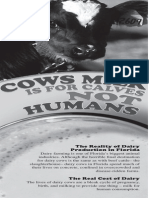 Cows' milk is for calves, not humans