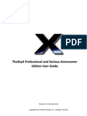 TheSkyX Pro User Guide | Stars | Solar System on
