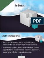 Matriz Ortogonal en Estructuras de Datos