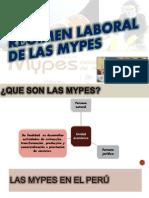 Regimen Laboral de Las Mypes