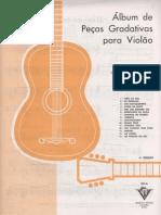 Vicente a. Ferreira - Álbum de Peças Gradativas Para Violão