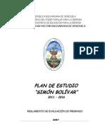 Reglamento de Evaluacion de La Umbv Pregrado 20120131